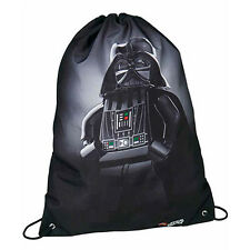 Bag backpack drawstring LEGO STAR WARS 2017 fabric black printed 43x31 cm