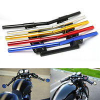 Adjustable 22mm 7/8'' Clip On Guidons Bracelet Moto Auto Pr Honda Yamaha Harley