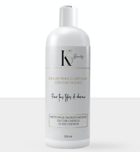 Shampoing clarifiant KS BEAUTY à la kératine intense 500ml MADE IN FRANCE