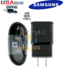 Original Samsung Galaxy Note10 S10 S9 S8 Plus Fast Wall Charger 4Ft Type-C Cable