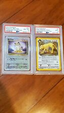 Psa 8 & 9 Mint Legendary Collection Holo Lot Persian Meowth Reverse WOTC Base 3