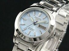 SEIKO 5 SYMD89 SYMD89K1 Ladies baby blue Automatic Self Winding 30m WR !
