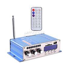 Hy502S Fm/Mp3 Audio Speaker Car Bluetooth Amplifier HiFi Bass 2Ch Player Remote