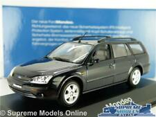 FORD MONDEO MK3 ESTATE MODEL CAR DARK BLUE 1:43 SCALE MINICHAMPS 2000 K8