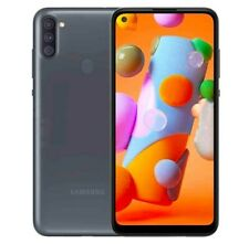 Genuine Samsung Galaxy A11 Single-sim 32gb ROM 2gb RAM 4g LTE Smartphone Black