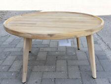 Impressionen Tisch Rund Gartentisch Outdoor-Tisch Circle  Ø 80 cm Holz Natur