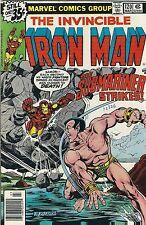 "The Invincible Iron Man ""The Sub-Mariner"" #120 & #121 (1979) Marvel Comics Fn+"