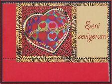 2006 FRANCE N°3861A** PERSONNALISE coeur Scherrer,  LOGO Je t'aime en Turc