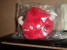"Nintendo Squeeballs Party El Toro Character 5"" Red Plushies"