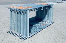 Vertikalrahmen 2,00x1,09 m Stahl Layher/MJ 4 Geländerkästchen Gerüst Gerüste