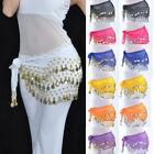 Hip Scarves for Belly Dancing Waist Costume Belt Chiffon Dangling Belly Dance