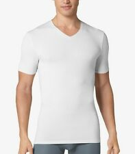 Tommy John Second Skin Deep V- Neck T Shirt White Size S/P
