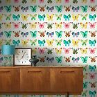 MULTI BUTTERFLIES WALLPAPER - RASCH 273601 - NEW BUTTERFLY BEDROOM DECOR
