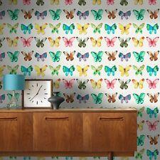 multi farfalle carta da parati - Rasch 273601 - NUOVO ARREDAMENTO CAMERA LETTO