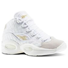5fcd832b6dec Reebok Question Mid Quilted White Party Chalk Gold Allen Iverson Ar1710 8