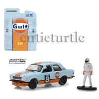 Greenlight Gulf Oil Racing Datsun 510 Wide Body #8 1:64 with Driver 51195-D