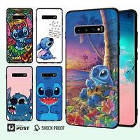 Lilo Stitch Bumper Case Cover For Samsung Galaxy S10 e 9 8 Edge Plus Note 034