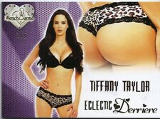TIFFANY TAYLOR 2016 BENCHWARMER ECLECTIC DERRIERE GREEN FOIL BUTT SP 3/5 NICE