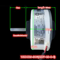 Air Conditioning Motor 20W WZDK20-38G WZDK20-38G Brushless DC Fan Motor