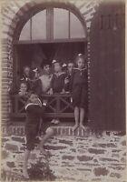 Bretaña Francia Foto Aficionado Vintage Citrato 1902