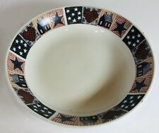 """Majesticware by Oneida """"American Quilt"""" Dinnerware Collection"""
