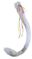 Deluxe Unicornio Peluche cola blancas Furry furries Fur Disfraz de Animal Disfraz Accesorio