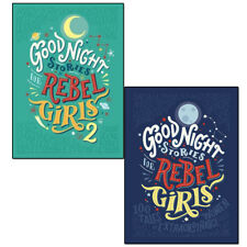 Good Night Stories For Rebel Girls Collection Elena Favilli 2 Books Set Pack NEW