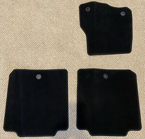 2018-20 Ford Expedition OEM Genuine Floor Mats New Black 3pcs Passenger 2nd Row