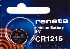 1 pcs 1216 Renata Lithium Watch Batteries Free Ship