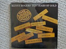 Kenny Roger's Ten Years Of Gold LP   UA-LA835-H, 1977 United Artists (#2196)