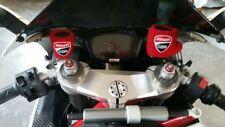 Polsino Moto Serbatoio Olio Freno Frizione logo Ducati Rosso Panigale Monster