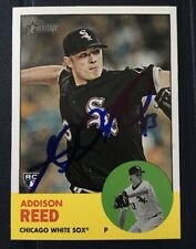 ADDISON REED 2012 TOPPS AUTOGRAPHED SIGNED AUTO BASEBALL CARD 223 WHITE SOX