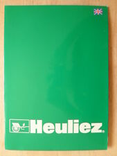 HEULIEZ 2000 Geneva Motor Show Press Pack - Peugeot 206 Coupe Convertible