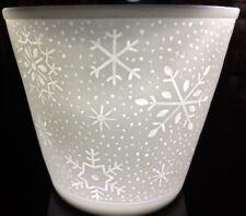 Windlichter Starlight Porzellan Teelichthalter Teelicht Windlicht, Eisblume #34