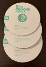 """VARIOUS ARTISTS """"90's GROOVE VOLUME II """"ORIGINAL 2013 UK 3CD SET (DISCS ONLY)"""