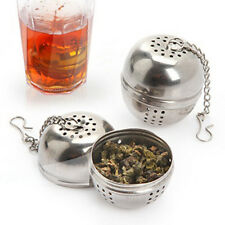 1PC Durable Tea Spice Strainer Metal Filter Ball Kitchen Kits Mesh Filter