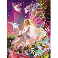 5D DIY Butterfly Fairy Diamond Painting Embroidery Cross Stitch Hanging Crafts