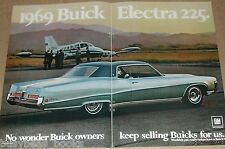 1968 Buick Electra 2-page advertisement, BUICK ELECTRA 225, big photo