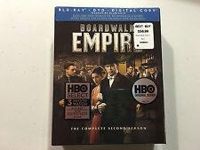Boardwalk Empire The Complete Second Season Blu-Ray + DVD + Digital Copy HBO NEW