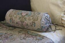 NEW Custom Ralph Lauren Margeaux Neck Roll Pillow Neckroll