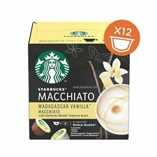 STARBUCKS MADAGASCAR VANILLA MACCHIATO DOLCE GUSTO CAPSULE COFFEE CAPSULES