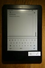 "*BLOCKED* Amazon Kindle Touch 7th Gen 4GB 6"" Wi-Fi E-reader - Black"
