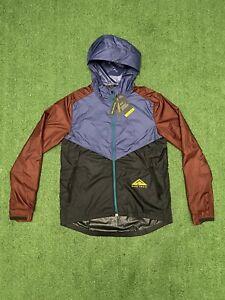 Men's Large Nike Shield Trail Windbreaker Running Jacket CZ9054-510