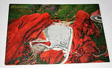 Red Rocks Amphitheater Colorado Jumbo Linen 1940-50s Giant Post Card NOS New