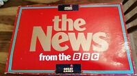VINTAGE THE NEWS FROM THE BBC BOARD GAME COMPLETE THE GREAT GAME COMPANY 1987
