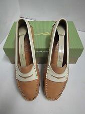 D. Lepard Mokkassin Damen Schuh natur Leder  Gr. 38 made in Italy shoe