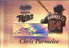 CHRIS PARMELEE 2007 Bowman's Best Prospect Rookie Autograph BBP56