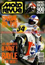 MOTO REVUE 2907 DUCATI 900 SS Super Sport ; Grand Prix BOL D'OR 1989