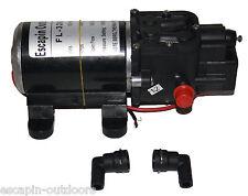 Pump 100PSI 5 lpm 12 Volt Pressure Spray Mini Gurney Washdown Chemical Seal 12V