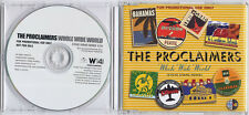 THE PROCLAIMERS Whole Wide World 2007 UK 1-track promo CD Steve Evans Remix